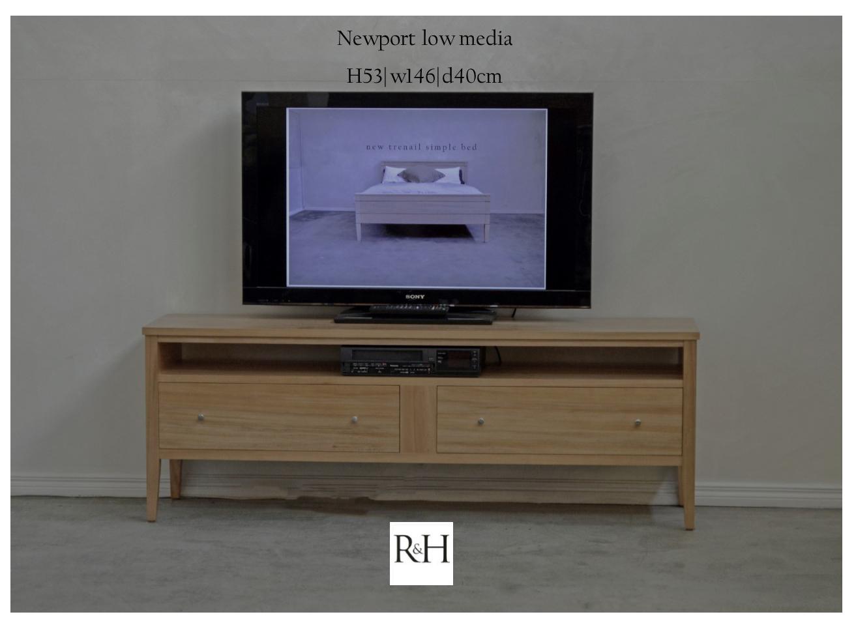Newport Low Media Cabinet NP412