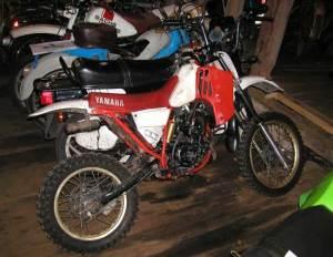 Moto Cross 80cc Yamaha yamaha 80cc dirt bike sold for