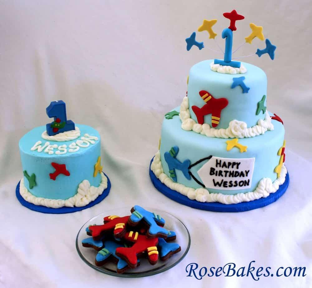 Smash cake designs