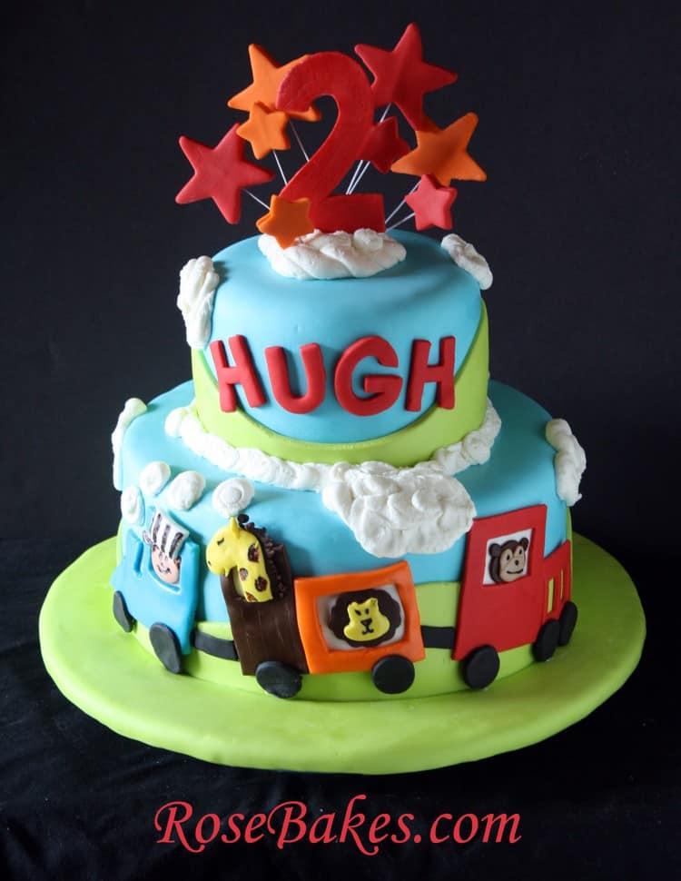 Choo Choo Circus Train Cake 2