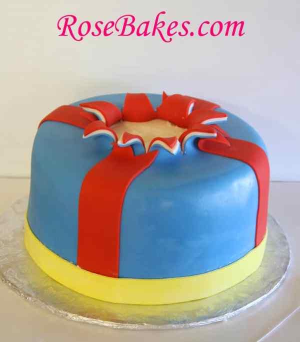 Ribbons Cake 8 - Rose Bakes