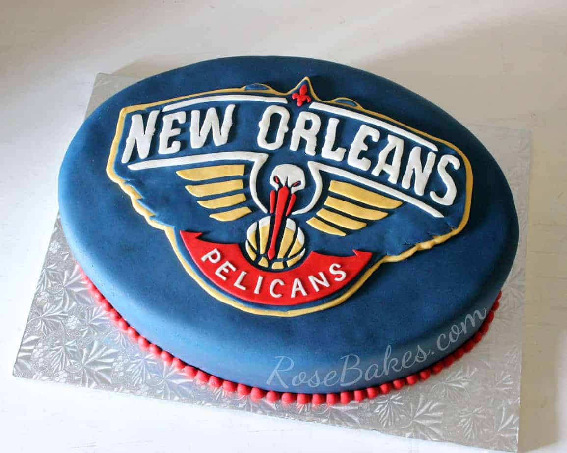 New Orleans Saints Birthday Cake Rose Bakes