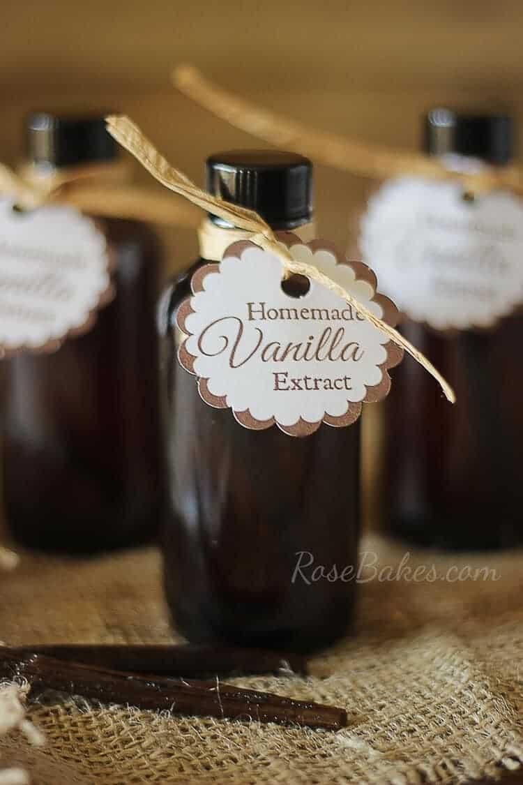 How To Make Homemade Vanilla Extract Christmas Gift Idea