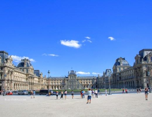 Dans le coeur de Paris.