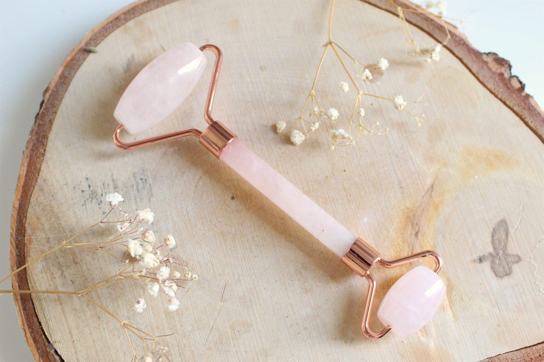rouleau de jade quartz rose