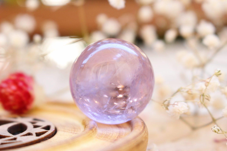 "Mini-Sphère ""Feng Shui"" en Améthyste"