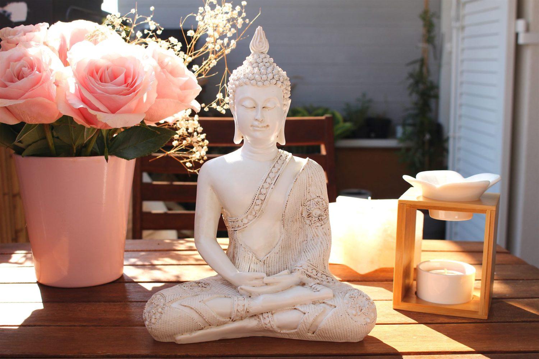 Statue Bouddha Mudra & Méditation