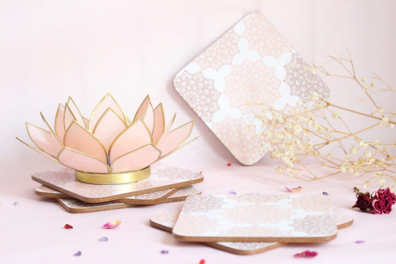 Dessous de verre Mandala