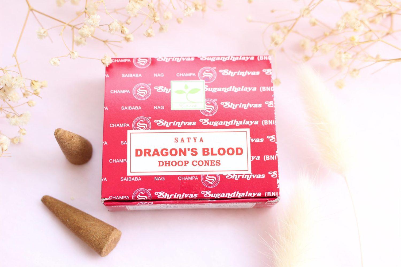 Encens en cônes Sang de Dragon