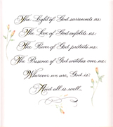 Rose Calligraphy & Design: Poems