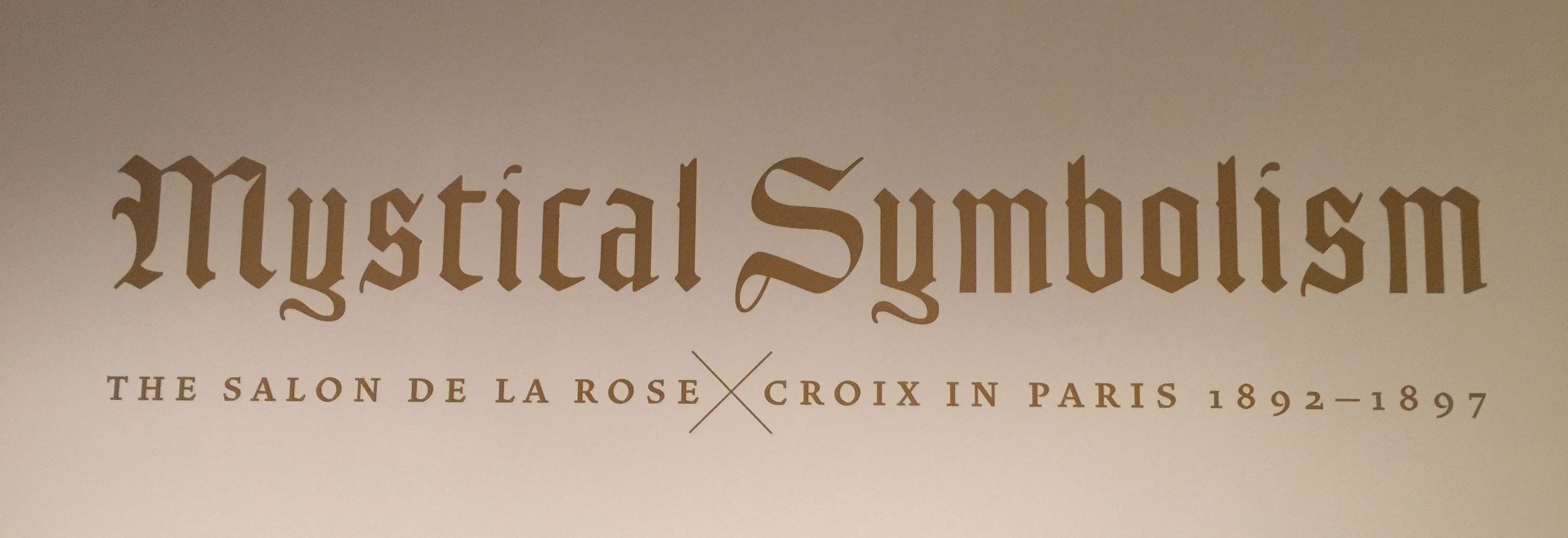 Salon De La Rose Croix Exhibition Rose Circle Books