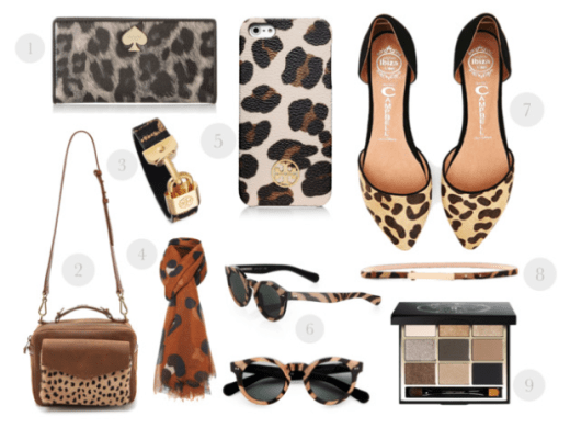leopard print accessories, leopard print fashion, animal print fashion, animal print style