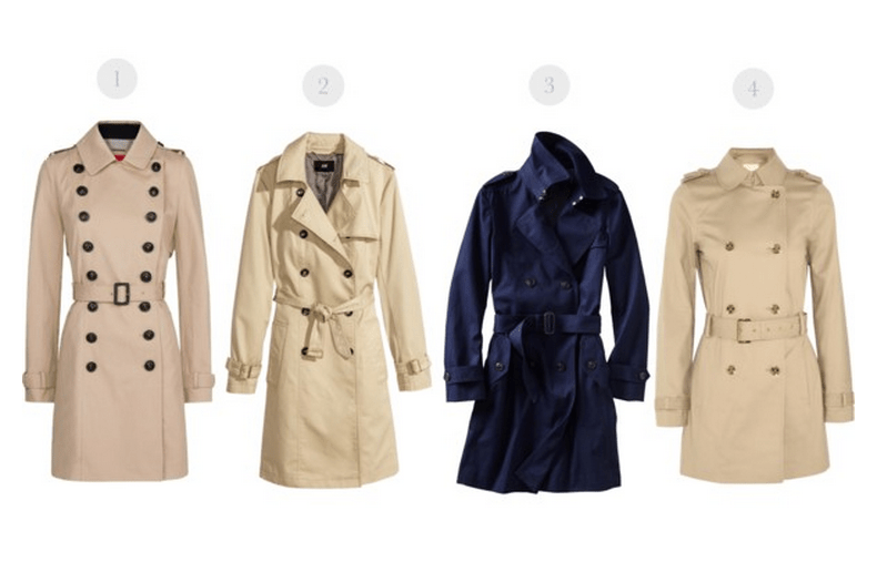 top trenches, spring trench coat, trench coat