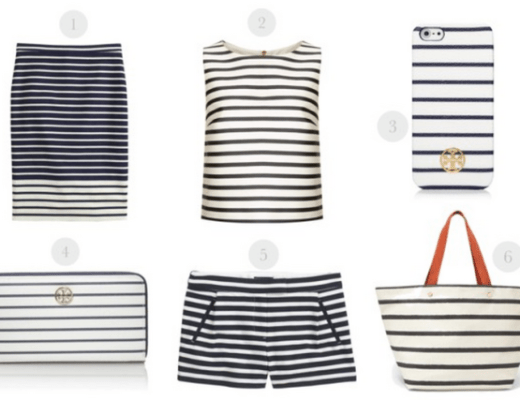 snappy strips, nautical look, nautical style, boating fashion, sailor fashion, sailor style, navy stripes tory burch