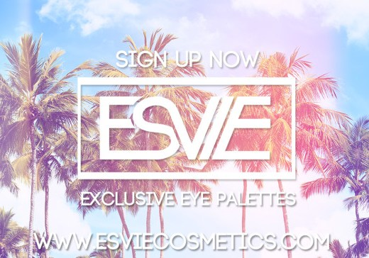 Esvie cosmetics, makeup subscription, windsor makeup, windsor makeup artist, eye palettes