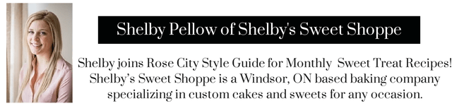 Rose City Style Guide Guest Contributor, Recipe blog, dessert blog, dessert recipes, boutique recipes, recipes fashion