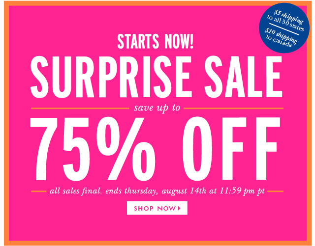 New Kate Spade's August Surprise Sale! HJ37