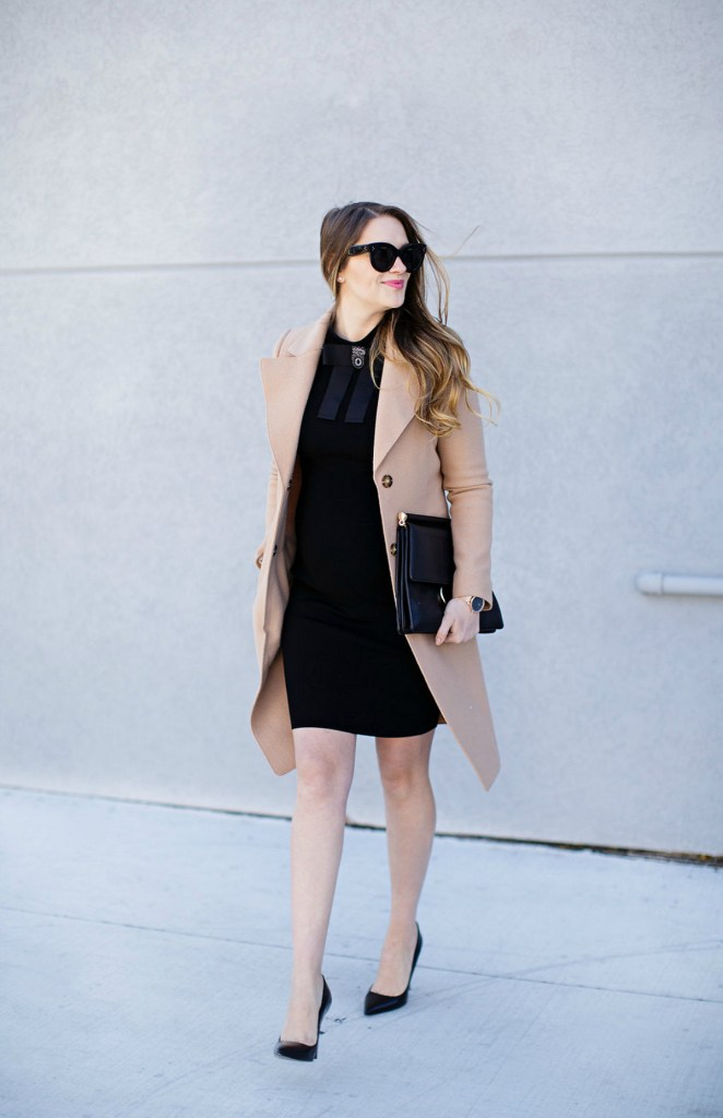 marc-cain-bow-dress-camel-coat-celine-caty-sunglasses-maternity-style-pregnancy-outfit-rosecitystyleguide-6