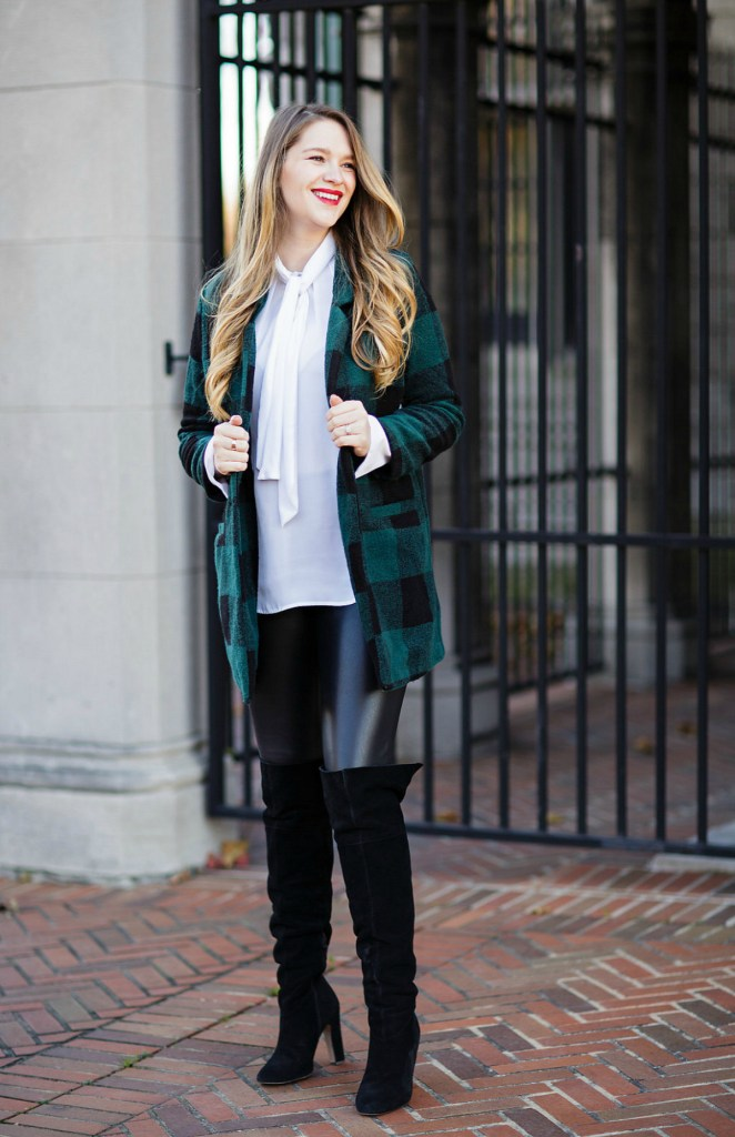 plaid-green-coat-old-navy-leather-leggings-holiday-style-maternity-pregnancy-outfit-christmas-rosecitystyleguide-ltkbump-6