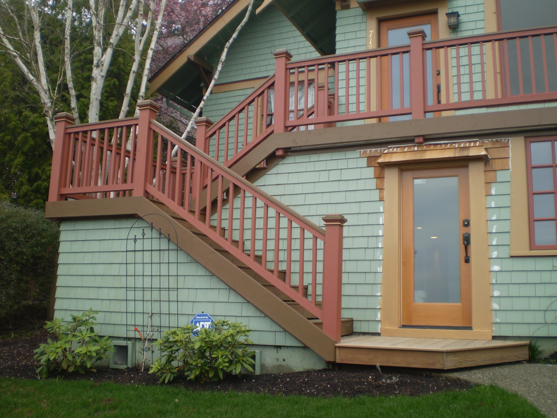 Do Your Outside Stairs Add To Your Home Or Detract From It   Outside Stairs For House