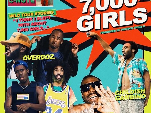 """OverDoz """"7000 Girls"""" ft Childish Gambino and King Chip"""