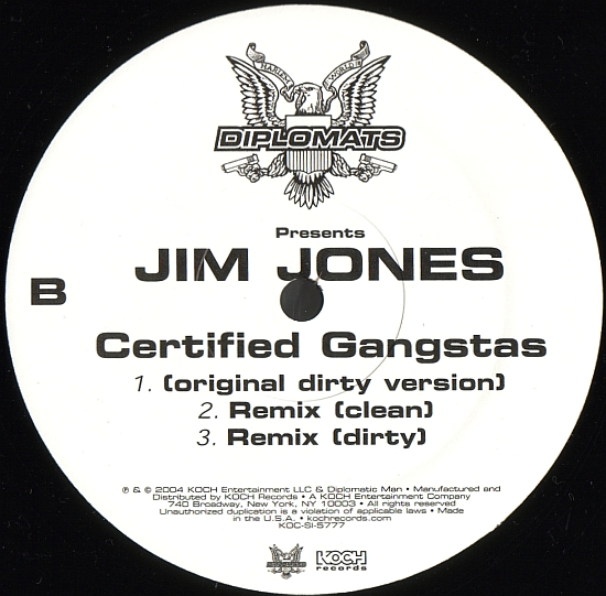 "#ThrowbackThursday: Jim Jones ""Certified Gangstas"" ft The Game & Cam'ron"