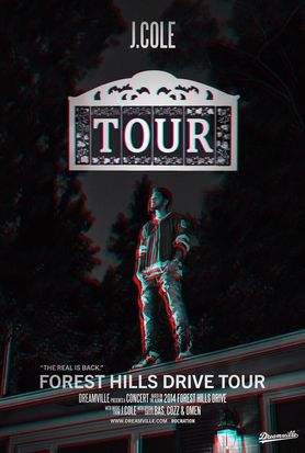 J. Cole Forest Hills Drive Tour ft Big Sean, YG & Cozz