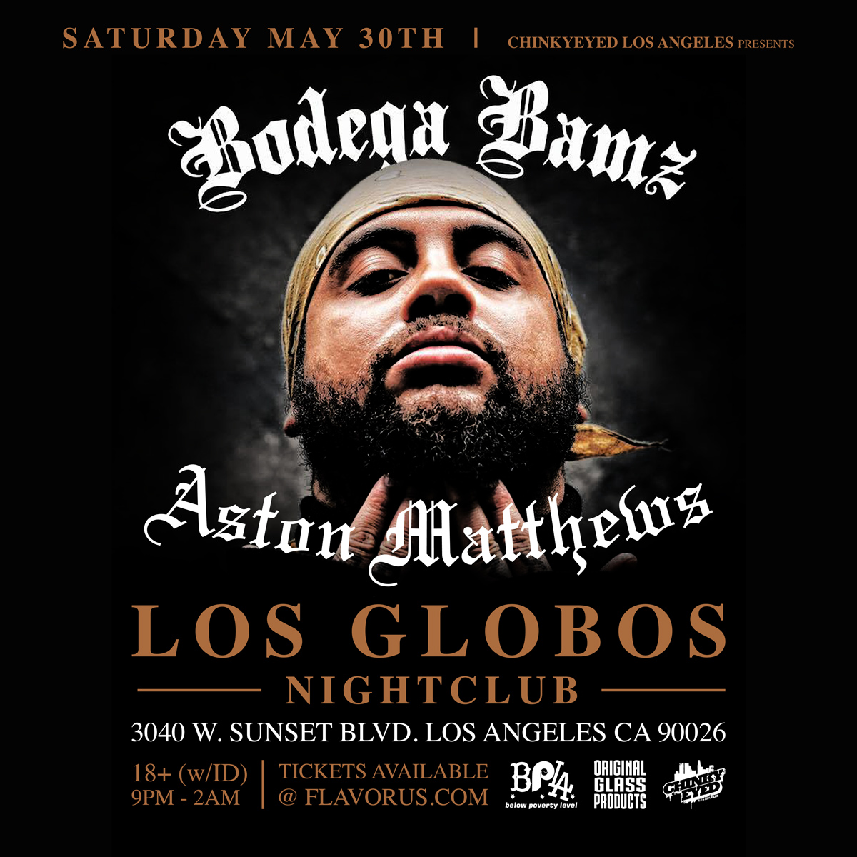 Bodega Bamz x A$ton Matthews x DrainTheGod x 3rd Ave LIVE! 5/30