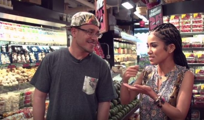 "Jhene Aiko Explains ""Eat The Booty Like Groceries"" Line"