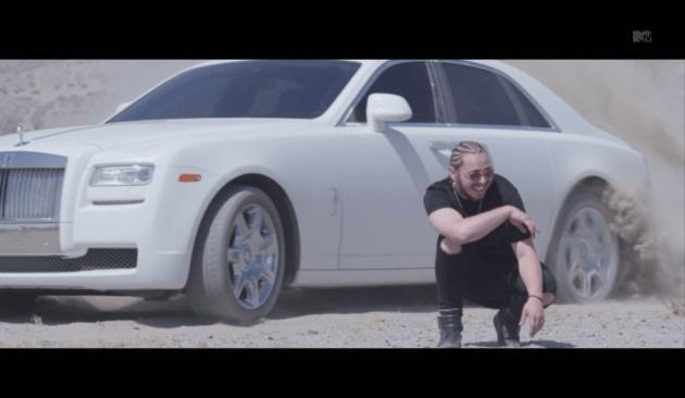 "Post Malone ""White Iverson"" Video"