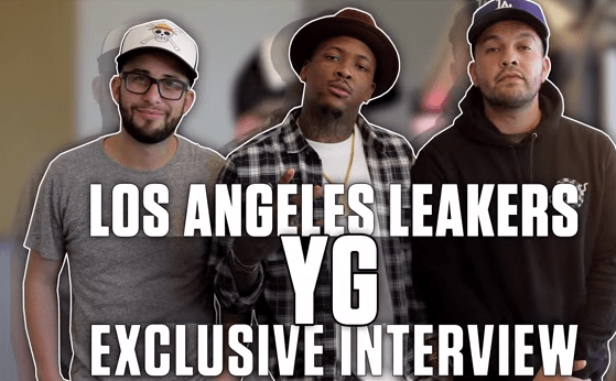 YG Interview with the L.A Leakers
