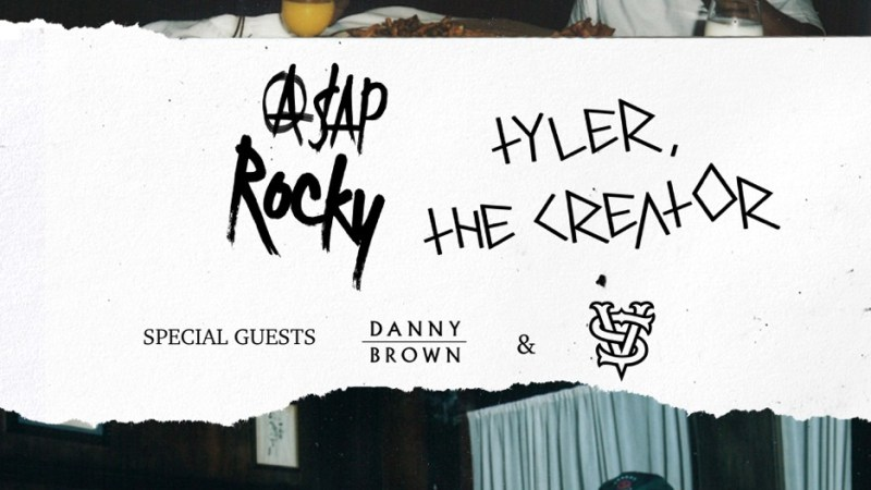 A$AP Rocky and Tyler, The Creator Tour