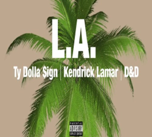 """Ty Dolla Sign with Kendrick Lamar, Brandy and James Fauntleroy's """"LA"""""""