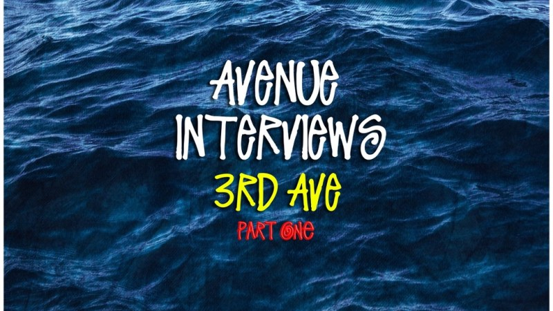 Avenue Interviews 3rd Ave (Part One) by Vic Stunts