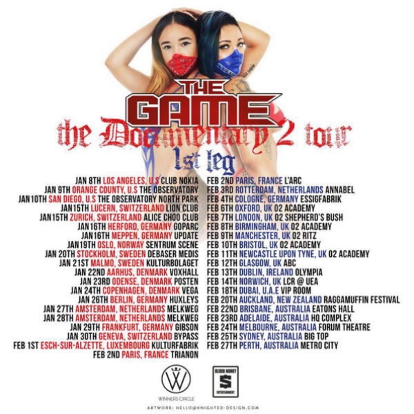 """The Game's """"Documentary 2"""" Tour!!"""