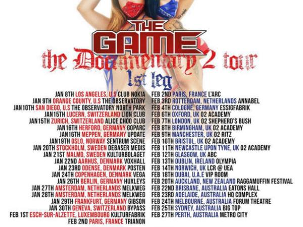 "The Game's ""Documentary 2"" Tour!!"