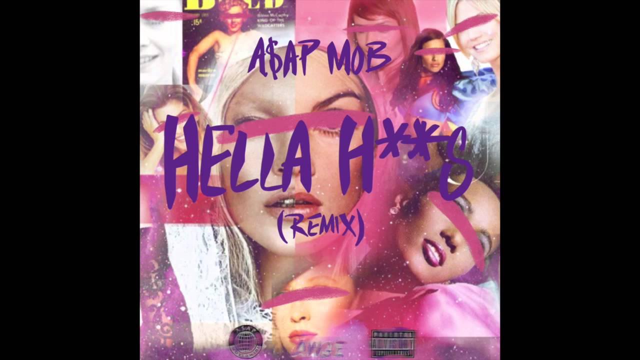 A$AP Mob 'Hella Hoes Remix' Ft A$ton Matthews & Danny Brown!