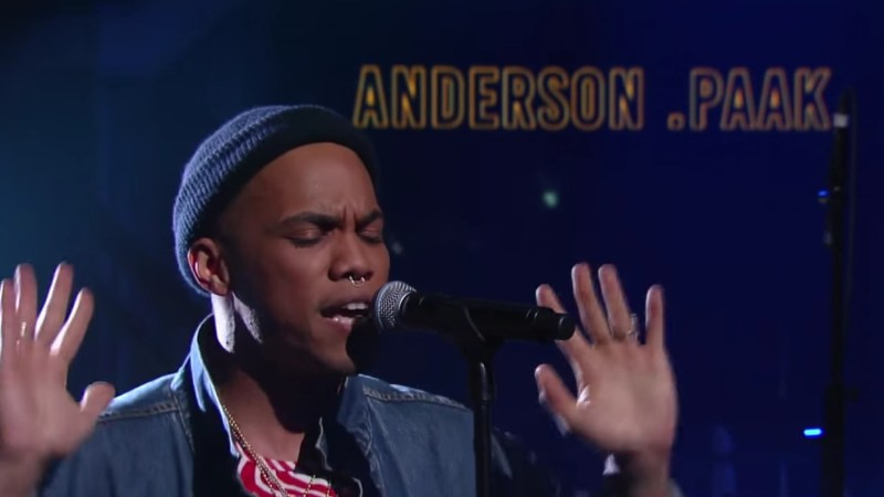 Anderson .Paak Makes His Television Debut