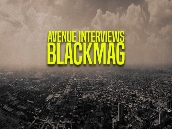 Avenue Interviews Black Mag by Vic Stunts
