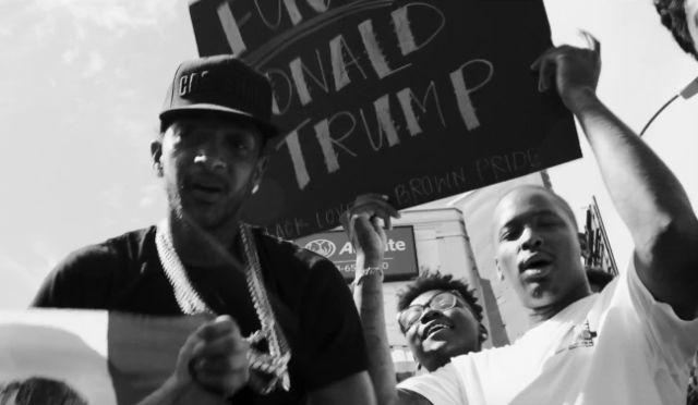 "YG & Nipsey Hussle ""F*** Donald Trump"" Video"