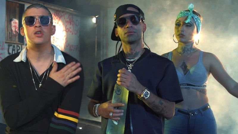 I'M NOT USED TO THIS, BUT IT'S FIRE!! Arcangel x Bad Bunny