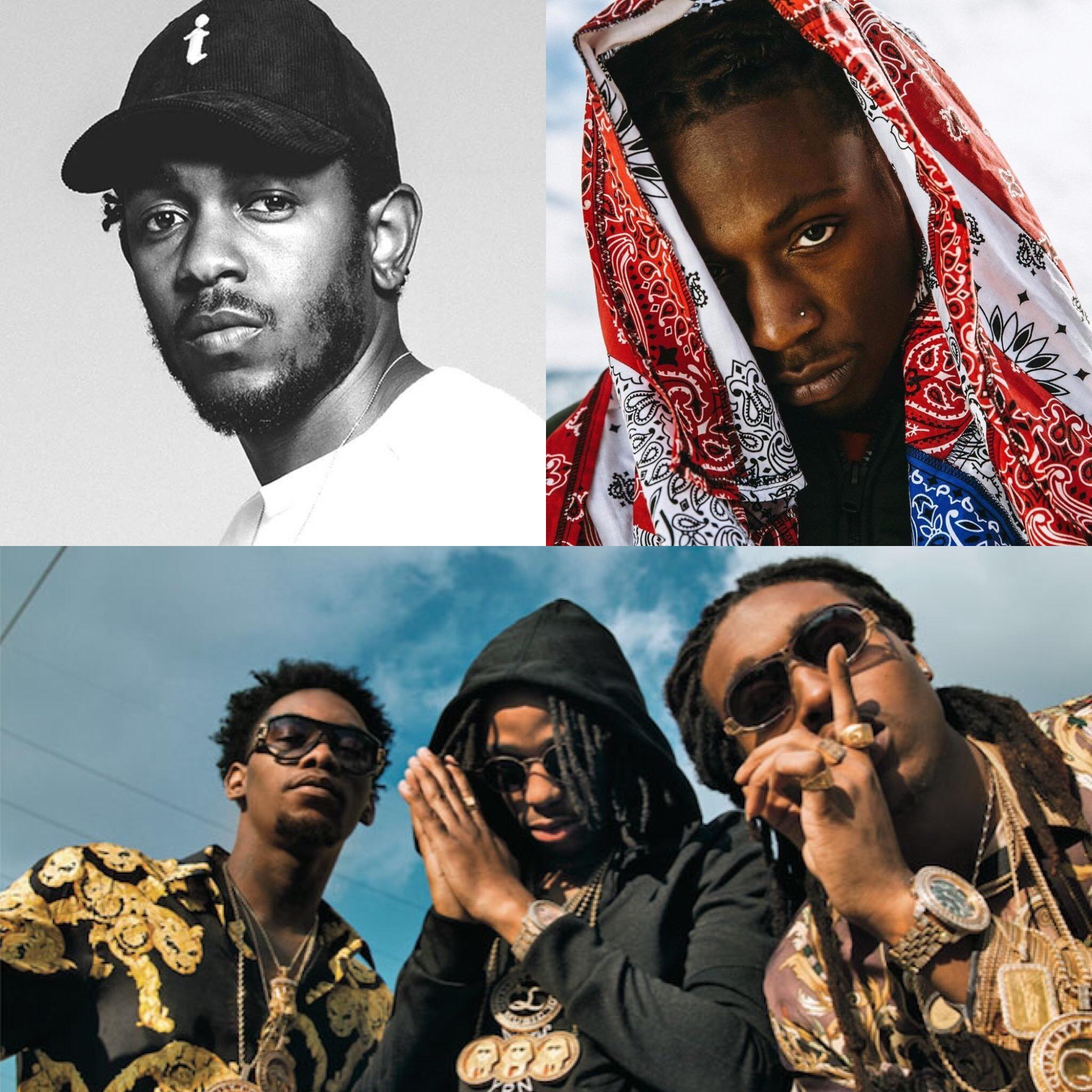 Top 5 Hip-Hop Albums Of 2017 (So Far)