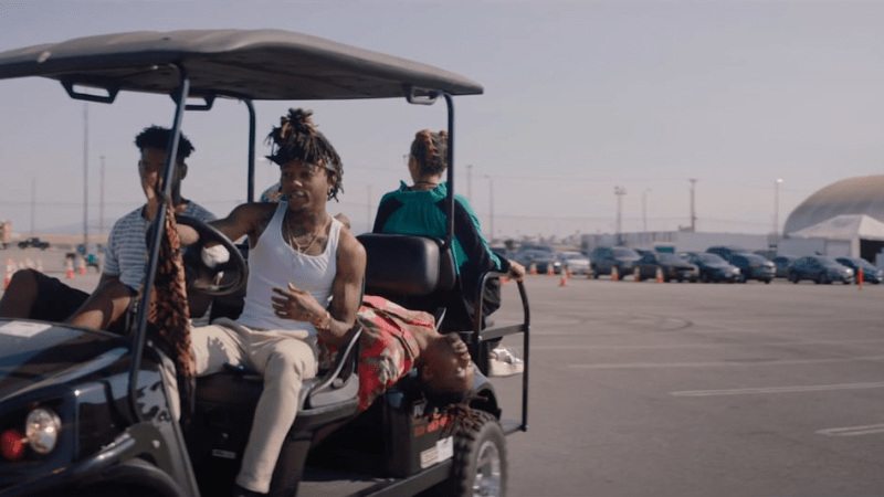 """J.I.D feat. Earthgang """"D/vision"""" Music Video"""