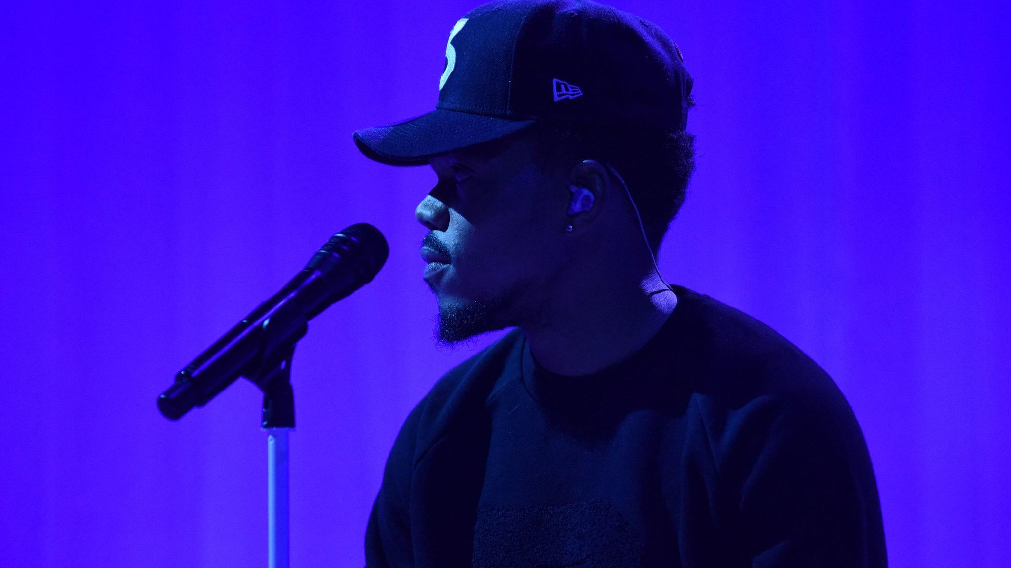 Chance the Rapper Performs A New Song on The Late Show