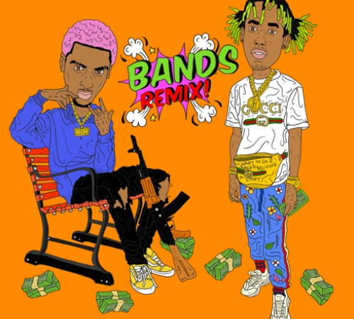 "COMETHAZINE – ""BANDS"" [REMIX] (Ft. Rich The Kid)"