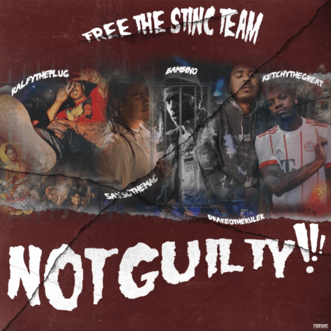 "Drakeo the Ruler x The Stinc Team – ""Not Guilty"" EP"