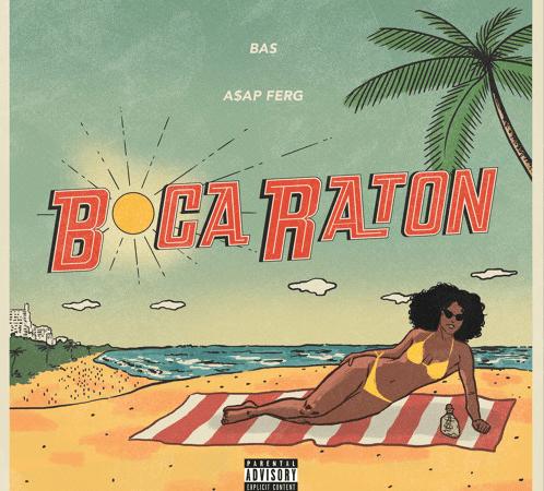 """Bas – """"Boca Raton"""" Feat. A$AP Ferg Prod. by Sango"""
