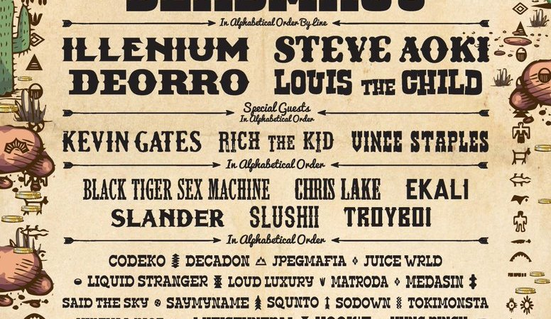Gold Rush Music Festival 2018 Lineup