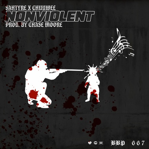 """Sahtyre – """"Nonviolent"""" Feat. Chuuwee Prod. Chase Moore"""