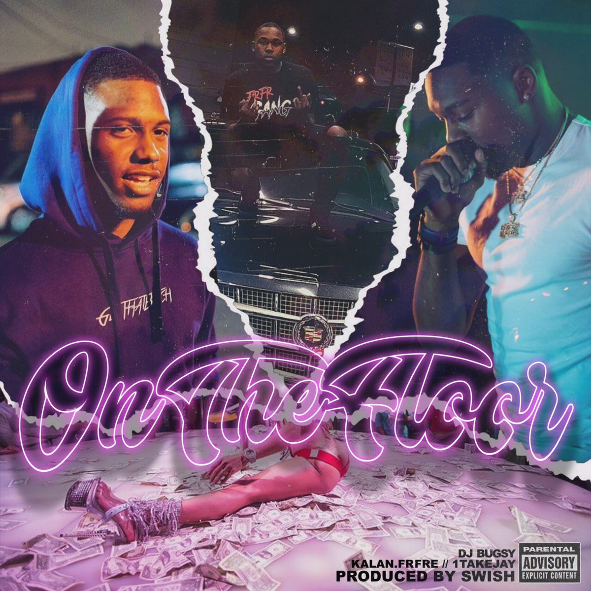 "Dj Bugsy – ""On The Floor"" Feat. Kalan.FrFr & 1TakeJay (Prod. By Swish)"